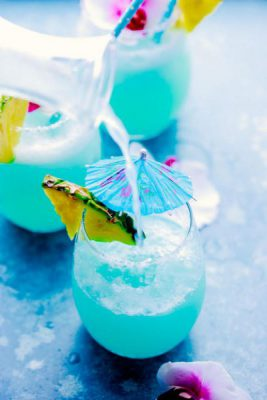 Blue Island Cocktail